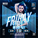 Friday Night | Club Party Flyer - GraphicRiver Item for Sale