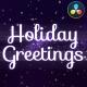 Holiday Magic Greetings | DaVinci Resolve - VideoHive Item for Sale