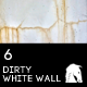 6 Hi-Res Dirty White Wall Textures - GraphicRiver Item for Sale