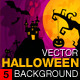 Vector Halloween Background 05 - GraphicRiver Item for Sale