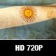 Argentina Flag Motion Loop - VideoHive Item for Sale