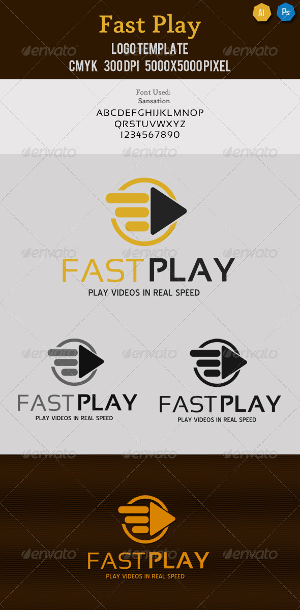 Fast Play Media Logo