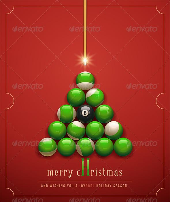 Creative Christmas tree.