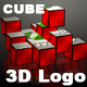 Logo In 3D cube - VideoHive Item for Sale
