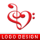 Music Lover Logo Template - GraphicRiver Item for Sale