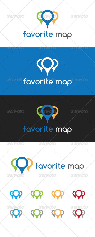Favorite Map Logo