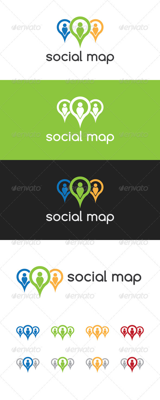 Social Map Logo
