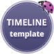 Timeline Template - ThemeForest Item for Sale