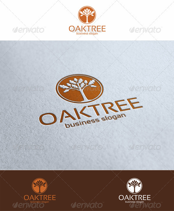 Oak Tree Logo