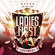 Ladies First Flyer Template  - GraphicRiver Item for Sale
