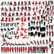People at Leisure Silhouettes - GraphicRiver Item for Sale