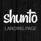 Shunto - Responsive Bootstrap Landing Page