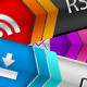 RSS - Subscribe - Download Buttons - GraphicRiver Item for Sale