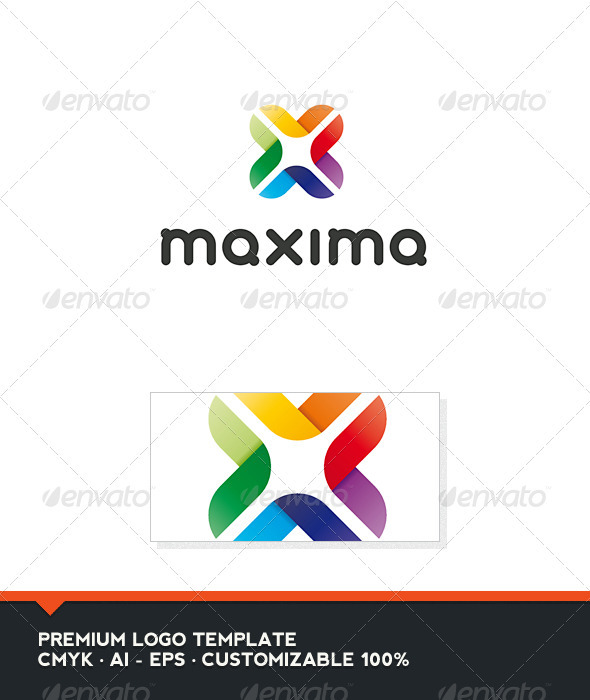Maxima - Abstract and Letter X Logo Template