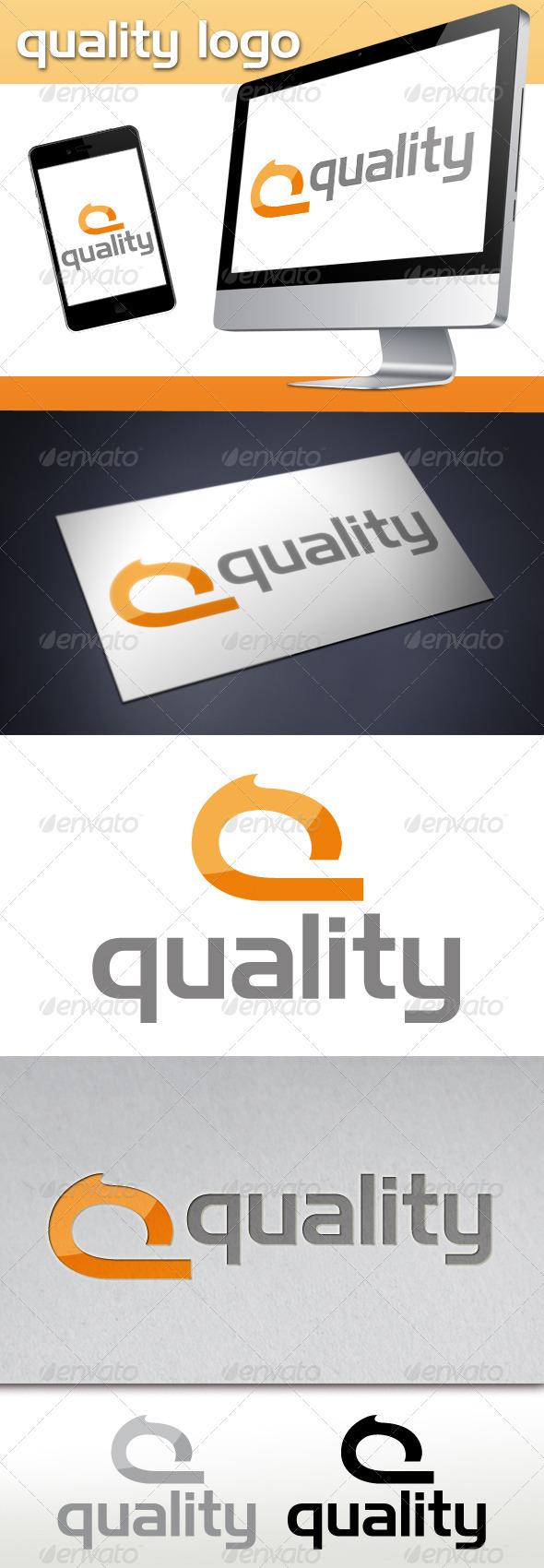 Quality Q Letter Logo