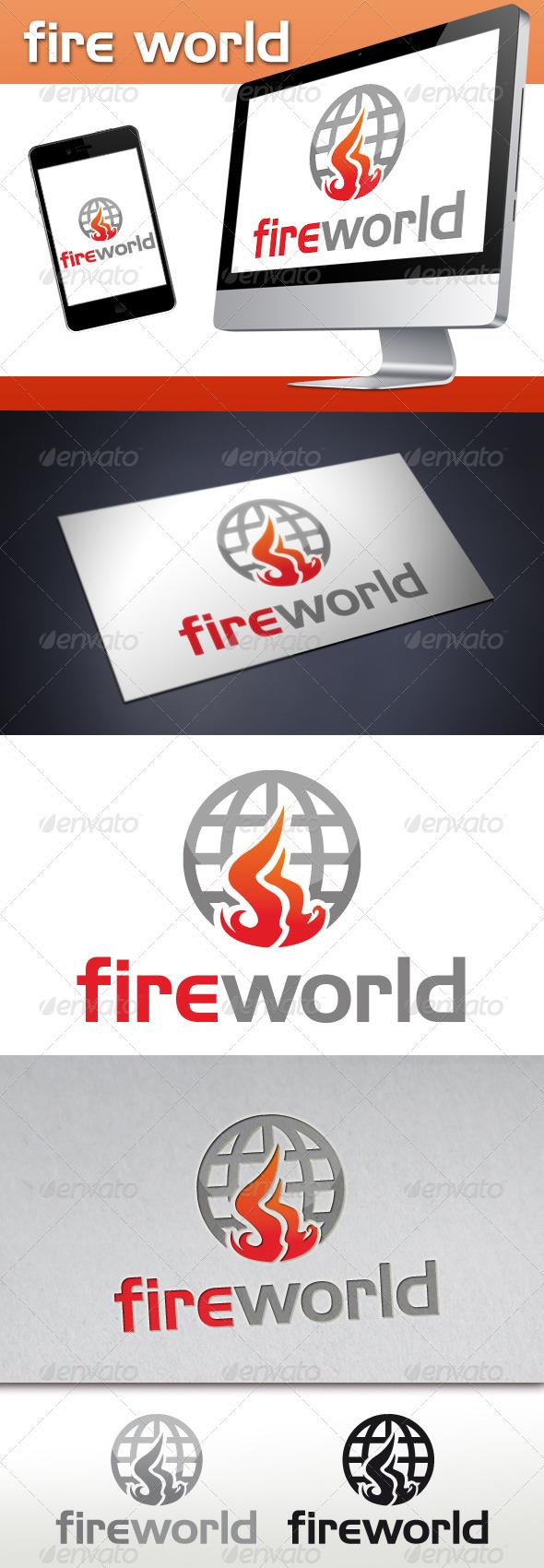 Fire World Media Logo