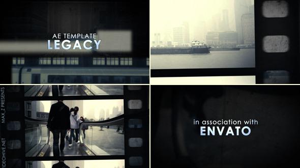 Legacy Film Tape Slideshow