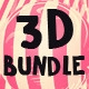 Isolated 3D Objects Bundle - GraphicRiver Item for Sale