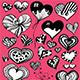 Doddle Heart Set - GraphicRiver Item for Sale