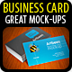 Business Card Mock-up Pack - 4 Styles - GraphicRiver Item for Sale