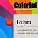 Colorful Modern - ThemeForest Item for Sale