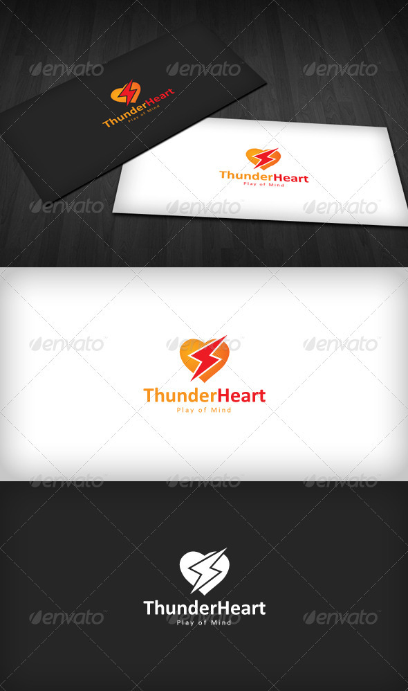 Thunder Heart Logo