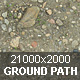 Ground. Gravel path. - 3DOcean Item for Sale