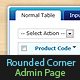 Fluid Layout Admin Page with Rounded Corner - CodeCanyon Item for Sale