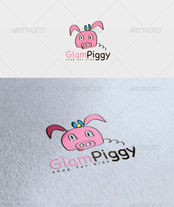 Glam Piggy Logo