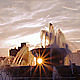 Chicago Sunny Fountain - VideoHive Item for Sale