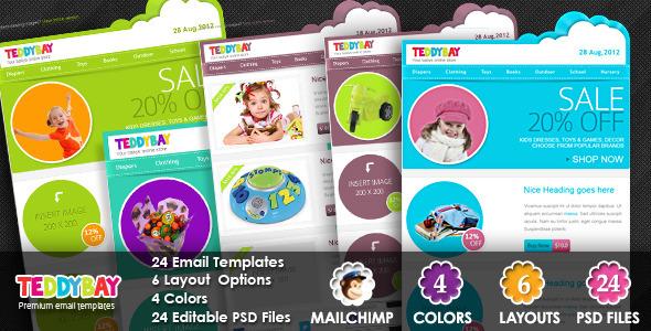 TeddyBay - Premium Email Template