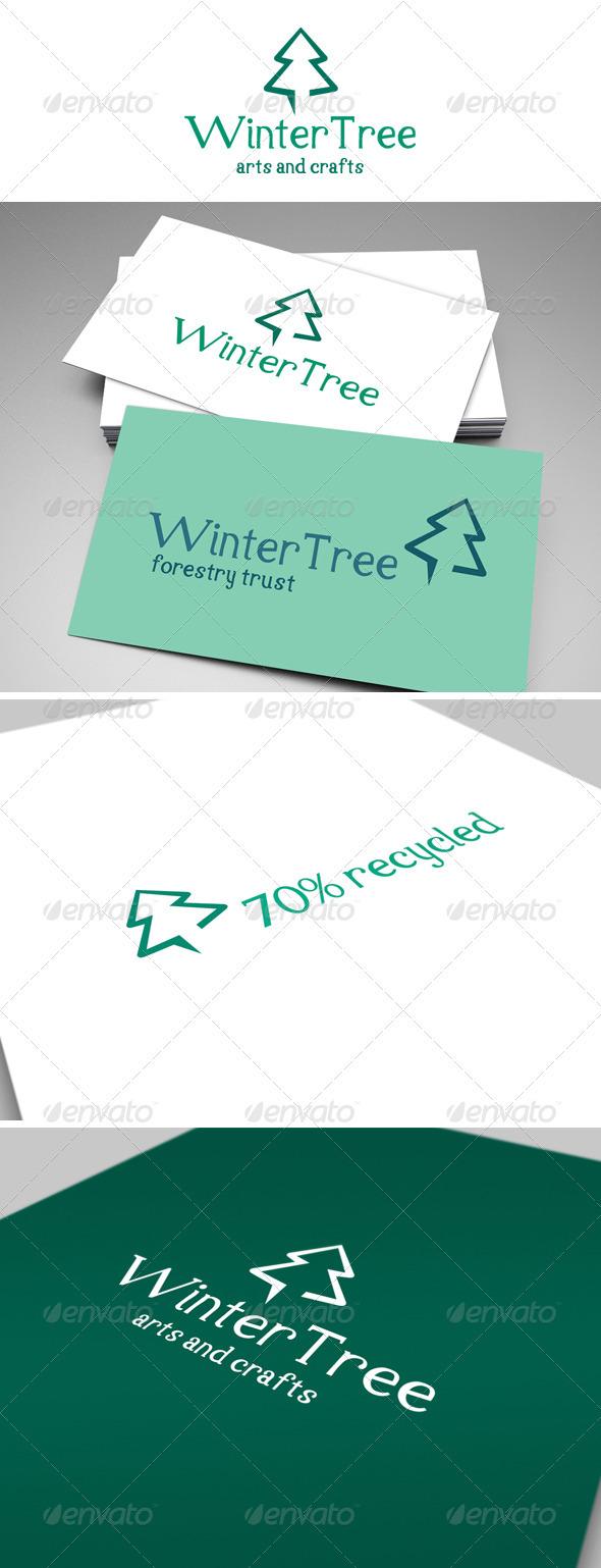 Winter Tree Logo
