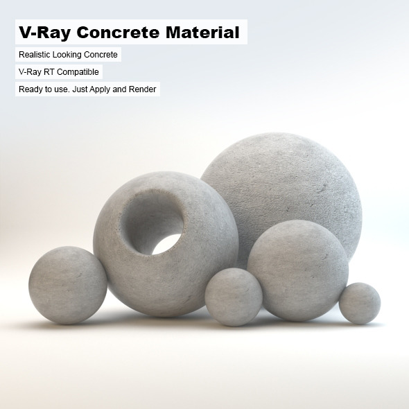Vray Stone 3D Materials & Shaders from 3DOcean