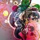 Floral Girl Illustrations Set - GraphicRiver Item for Sale