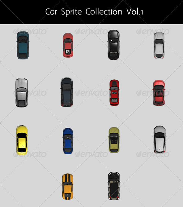 Sprite Game Graphics & Vectors from GraphicRiver