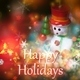 Holidays Intro - VideoHive Item for Sale
