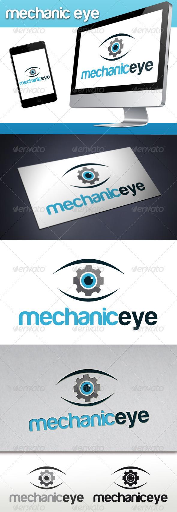 Mechanic Eye Logo