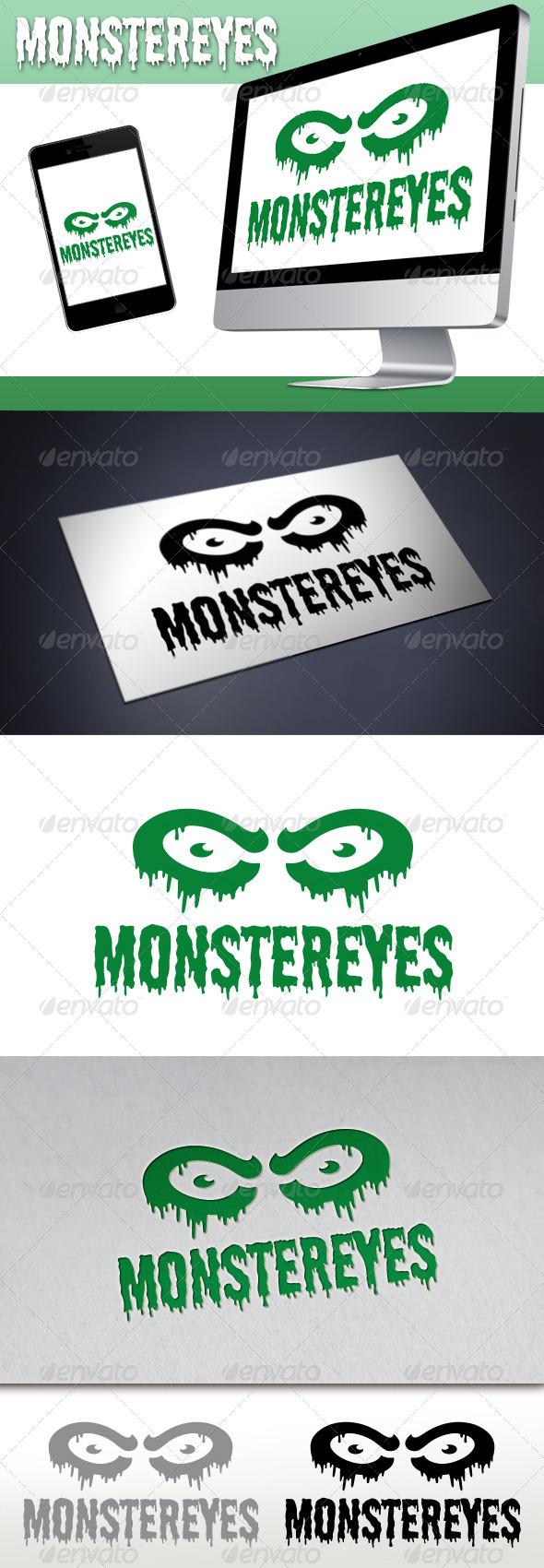Monster Eyes Studio Logo