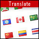 Translate PHP class