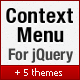 jQuery Context Menu Plugin