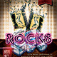 On The Rocks Flyer Template - GraphicRiver Item for Sale
