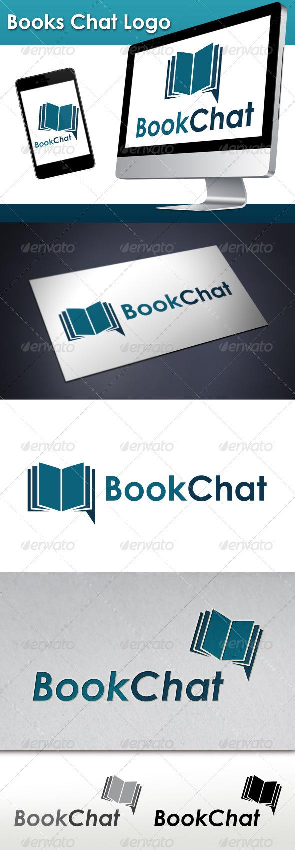 Books Chat Logo