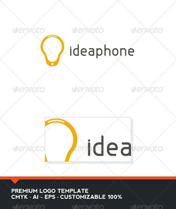 Idea Phone Logo Template