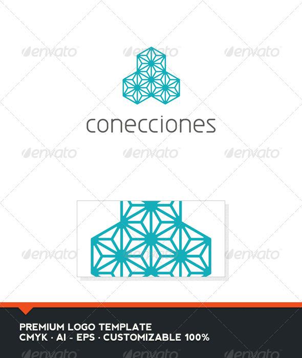 Conecciones Logo Template