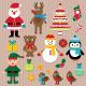 Christmas Vector Elements Design Set - GraphicRiver Item for Sale