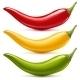 Hot Chilli Pepper Vector Set - GraphicRiver Item for Sale