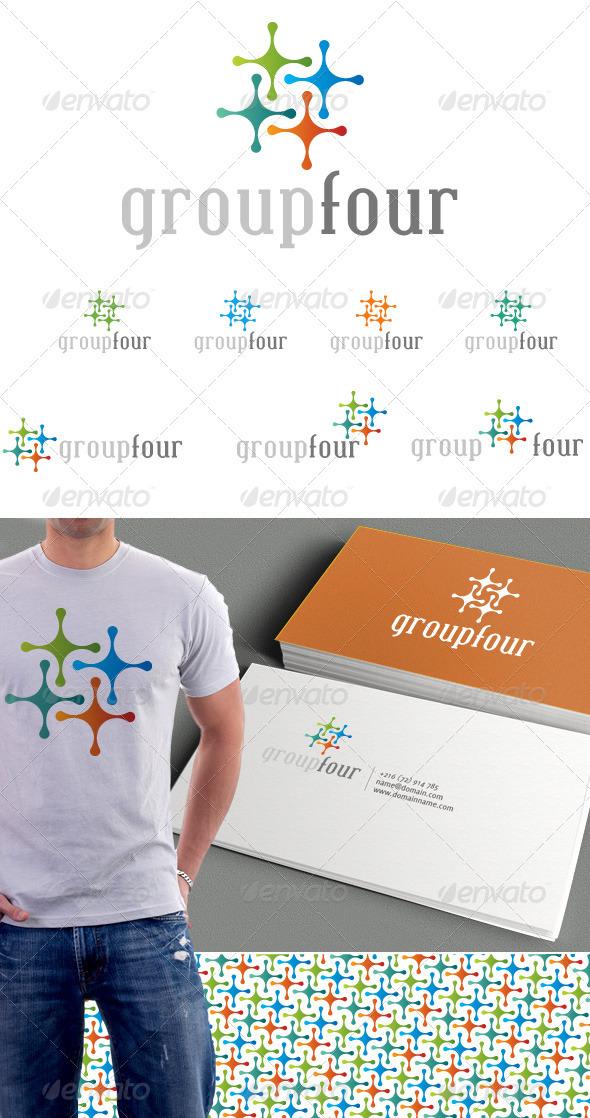 Group Four Logo & Background