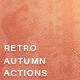 Vintage Autumn Photo Actions V2 - GraphicRiver Item for Sale