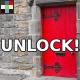 Opening Squeaky Door