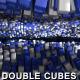 Cubes Ocean Flow - Double Ocean - VideoHive Item for Sale
